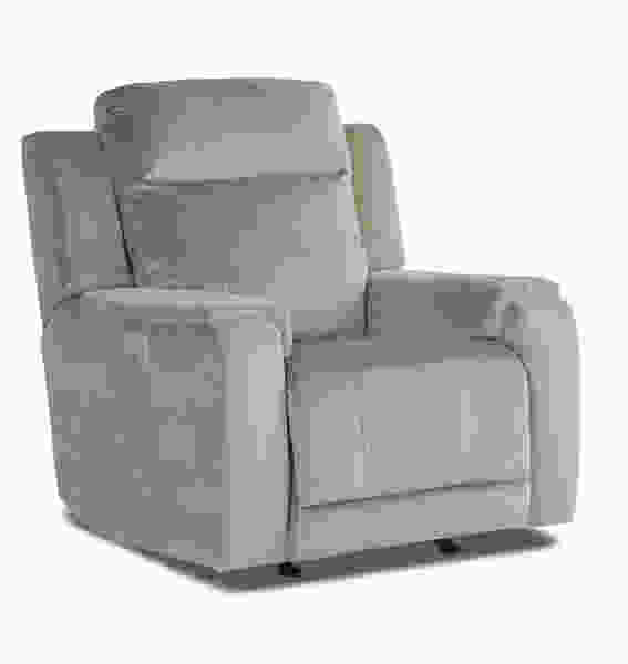 klaussner grand power reclining sofa country door covers hydra 52943 headrest recliner   sofas and sectionals