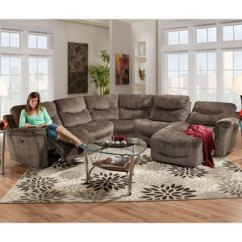 572 Reclining Sectional Sofa With Chaise By Franklin White Contemporary Italian Leather | Sofas And Sectionals
