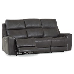 Deacon Leather Power Reclining Sofa Reviews How To Fix A Palliser Awesome Home
