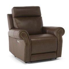 Klaussner Grand Power Reclining Sofa Best For Studio Apartment Casual & Transitional   Sofas And Sectionals