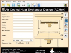 Air Cooled Heat Exchanger Design 1.0.0 Free Download