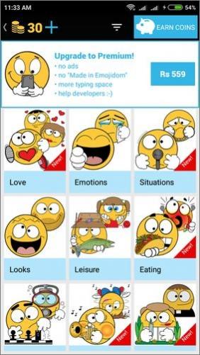 emojidom emoticons for texting