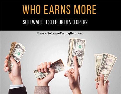 Who Earns More Software Tester OR Developer Lets Find