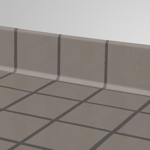 quarry tile cove base colonial grey 6x6