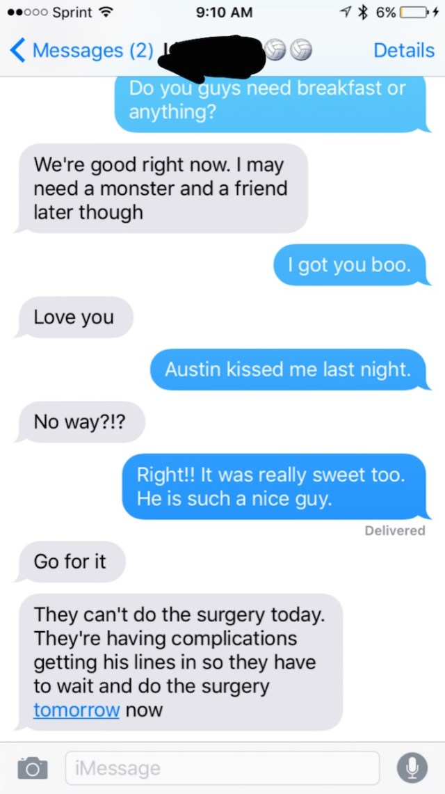 Wife Updating Husband On Friends Surgery Accidentally Reveals She Cheated And That She Can