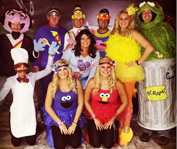 Most Unique Group Halloween Costumes