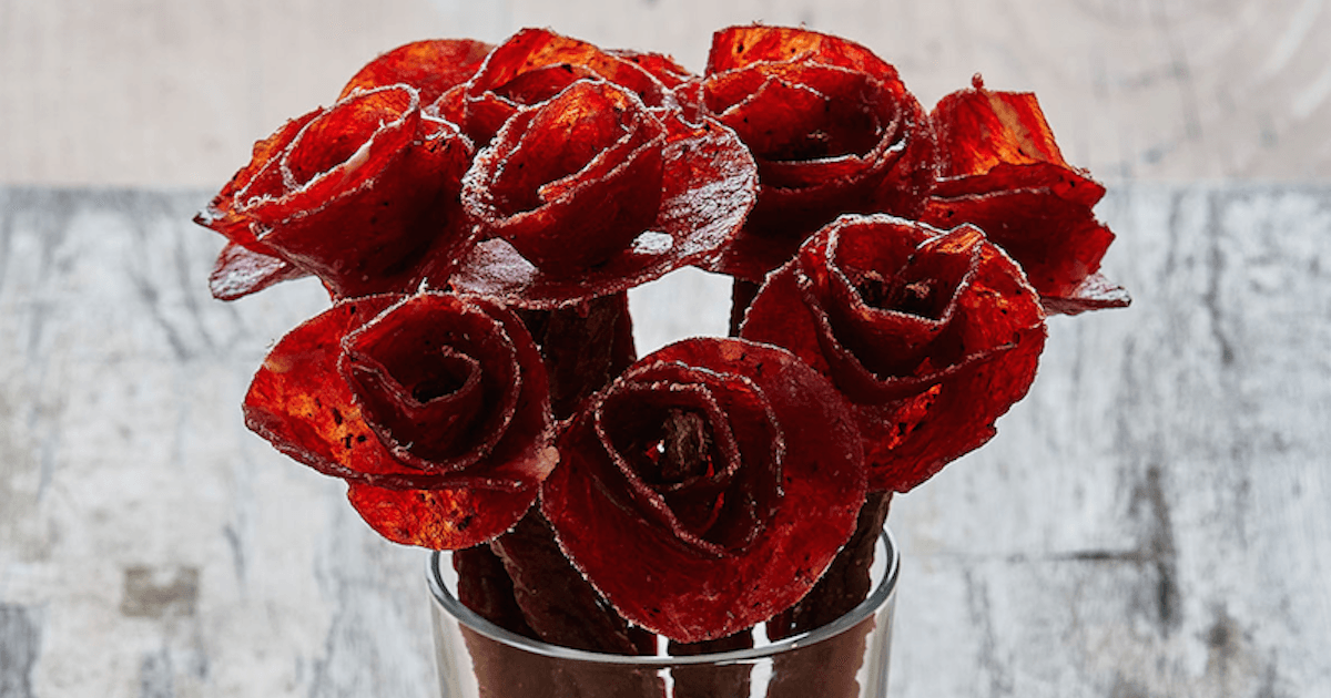 'Broquets' Are Flower Arrangements Made Of Beef Jerky