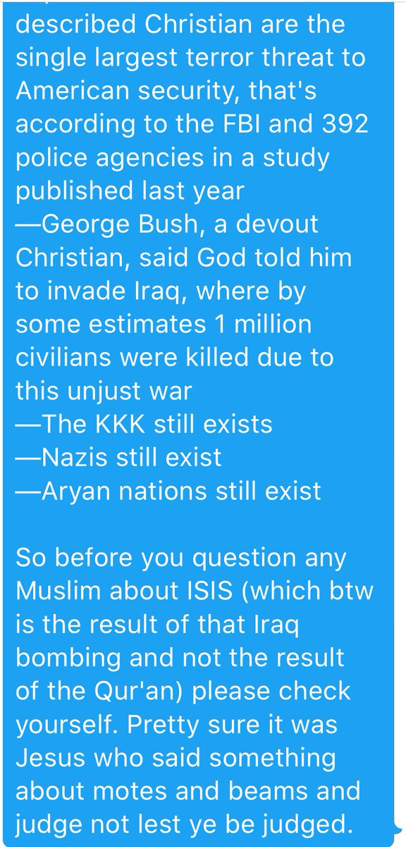 White supremacist asks Muslim lawyer why there is no 'Christian ISIS,' gets schooled.