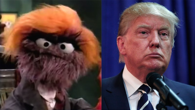 Sesame Street Made Fun Of Trump 10 Years Ago As A Trash