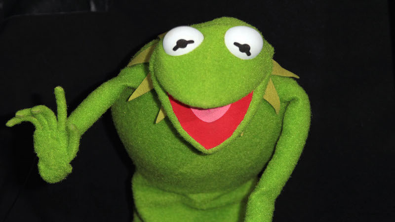 Kermit The Frog Has A New Lady Friend And He Definitely