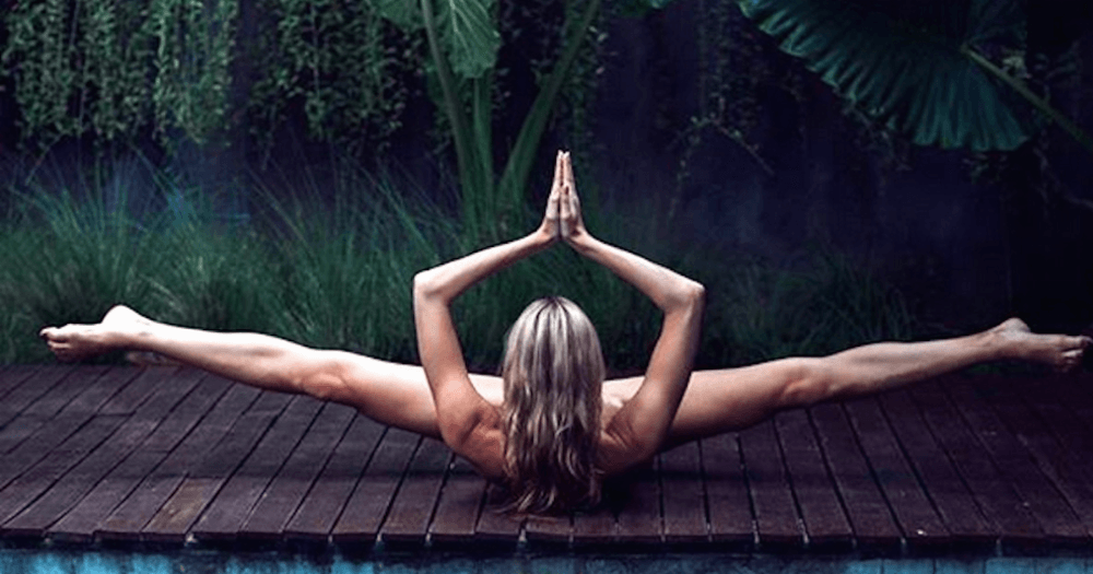 Nude yoga is the latest Instagram trend Yes its