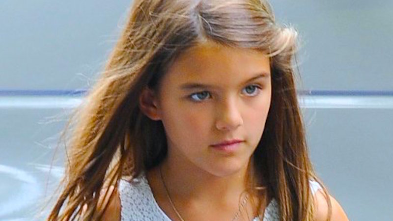 9 Year Old Suri Cruise Explains Why She Fired Her Music