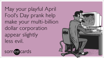 Multi Billion Dollar Corporation Evil Prank Funny Ecard