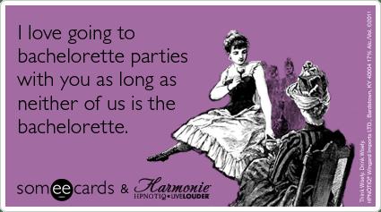 Bachelorette Party Girls Party Hpnotiq Funny Ecard