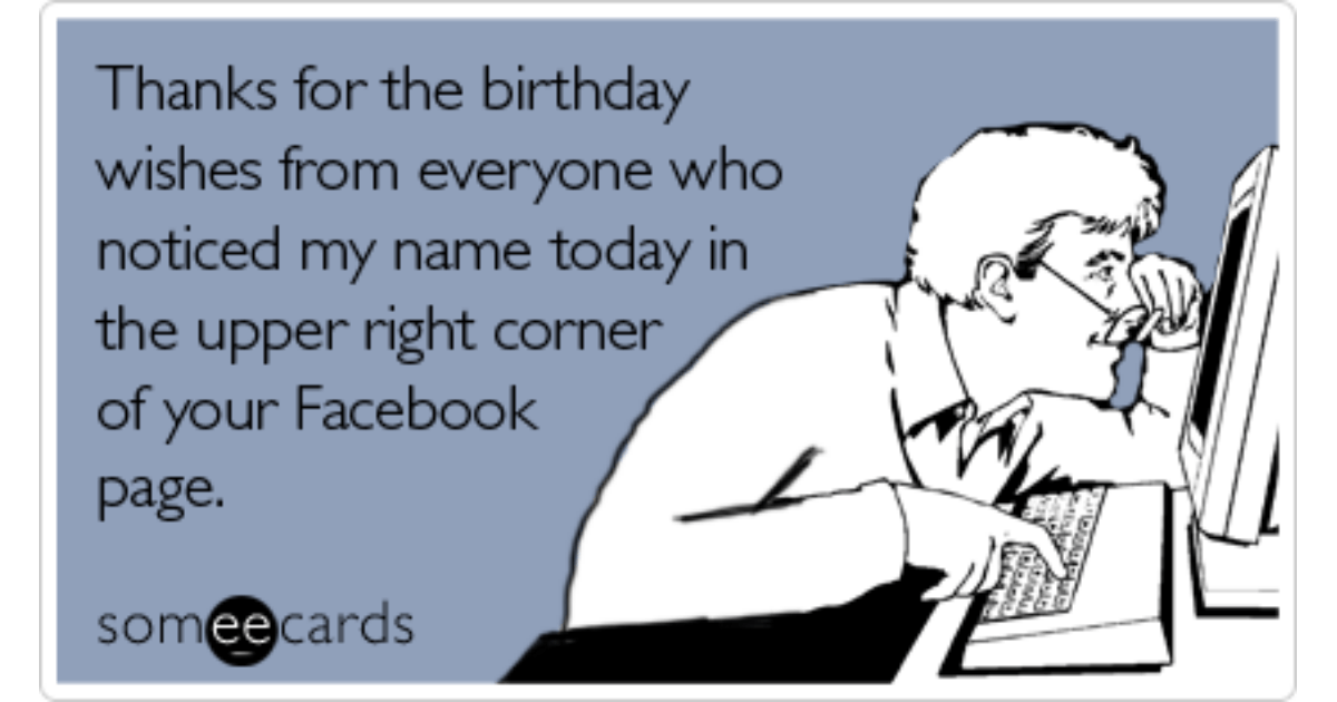 birthday facebook wall thanks