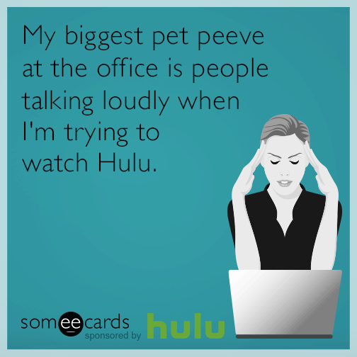 My Biggest Pet Peeve At The Office Is People Talking
