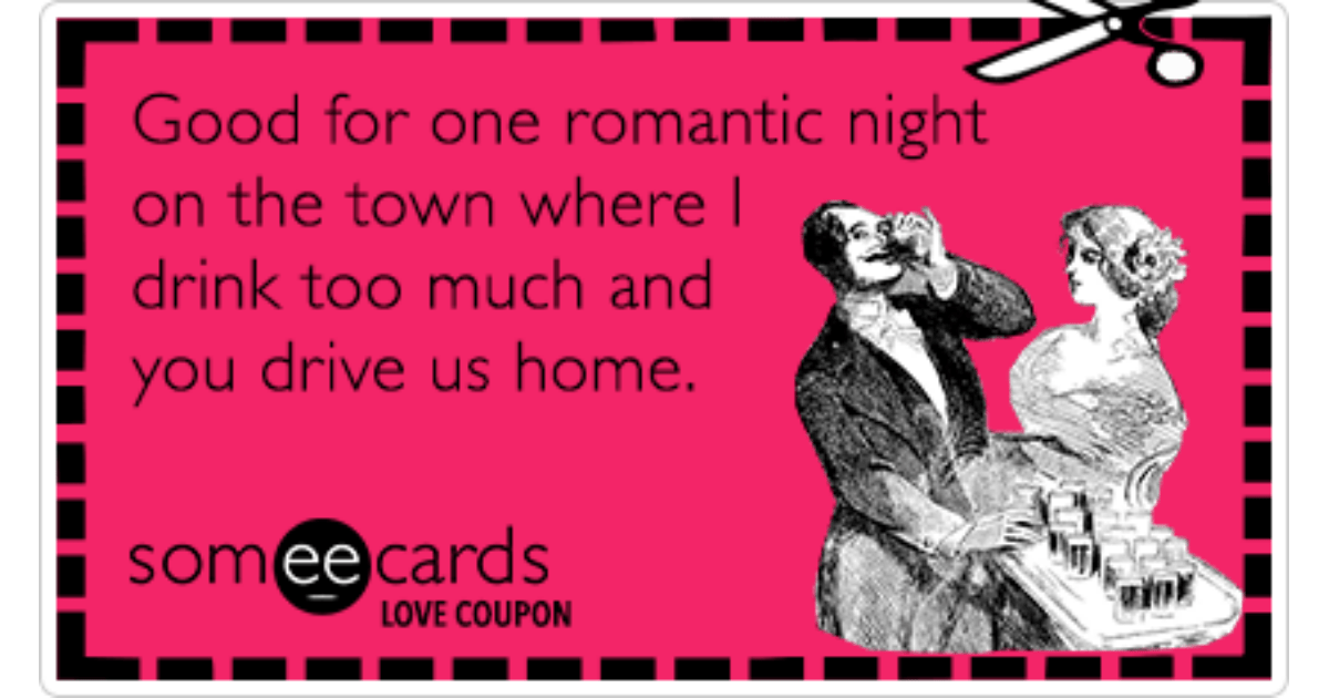 Love Coupon Good For One Romantic Night On The Town Where