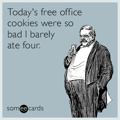 Todays Free Office Cookies Were So Bad I Barely Ate Four