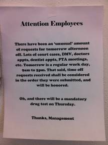 Office Kitchen Cleaning Memo - Year of Clean Water