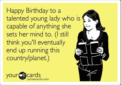 happy birthday to a