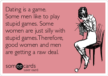 common dating games men play
