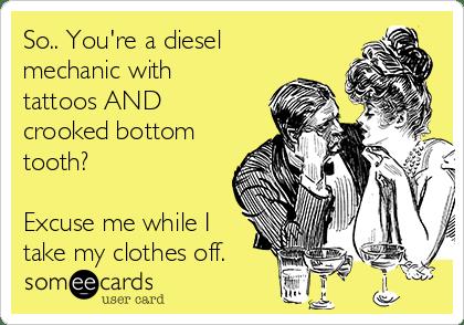 Diesel Mechanic Tattoos