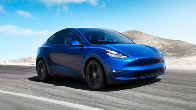 Picture of the Tesla Model Y