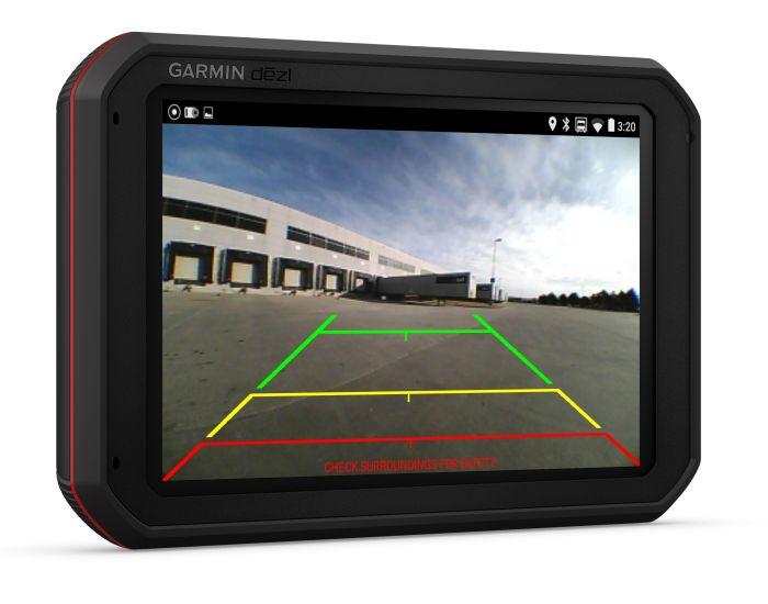 Garmin Dash cam cámara 65w 2,1 MP cámara con 180 ° lente gran angular 2 pulgadas