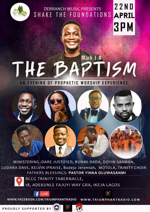 EVENT Debranch Music Presents Shake The Foundation 2018  The Baptism