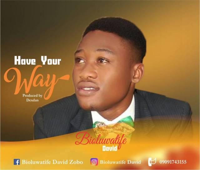 Boluwatife David Have Your Way Mp3 Download