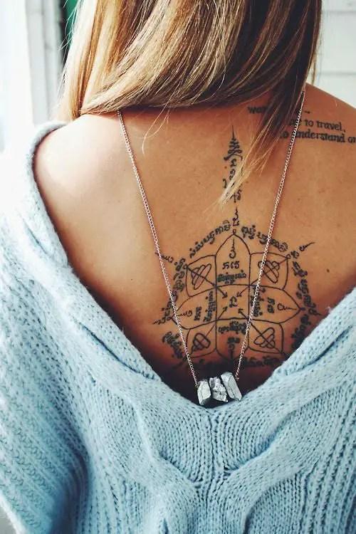 Back Tattoos Womens : tattoos, womens, Ultra, Tattoos, Women