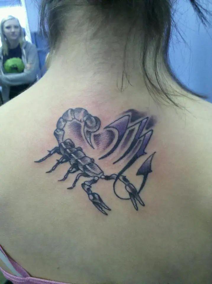 scorpio tattoo designs