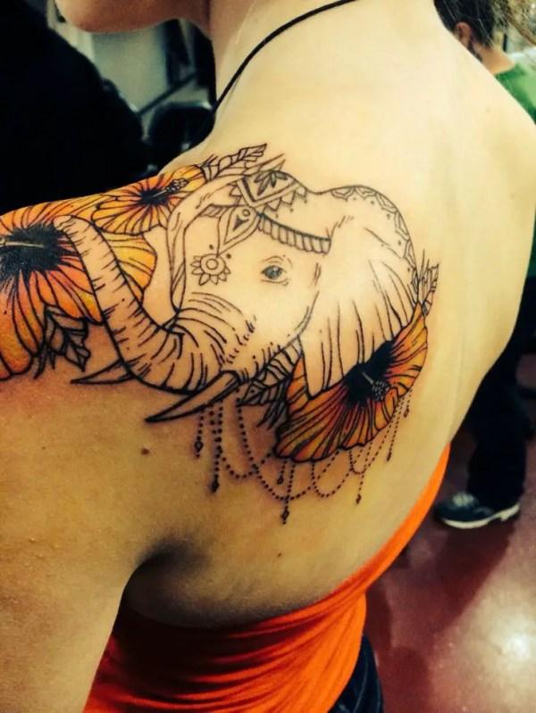 cute and impressive elephant