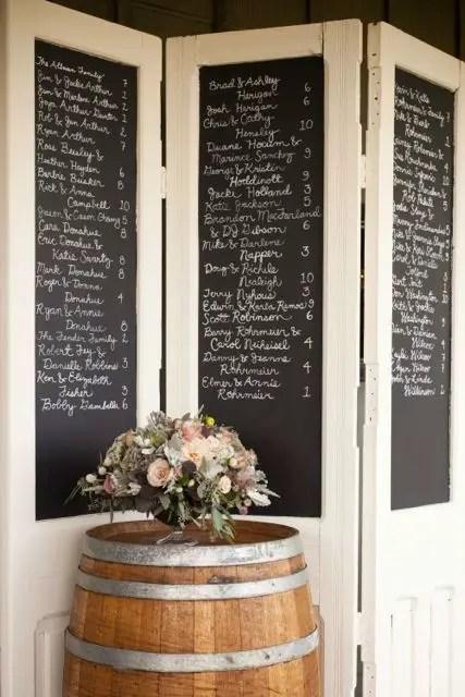 32 Cool Chalkboard Room Divider Design Ideas  Sortra