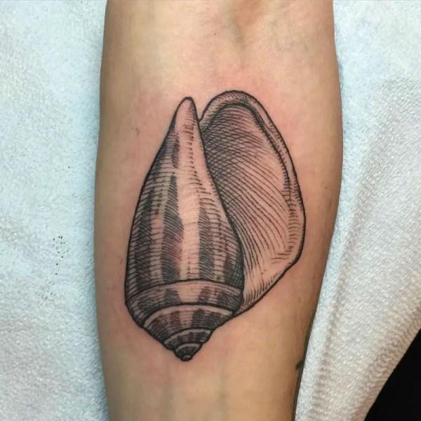 2f004d219 Seashell Tattoo - Exploring Mars