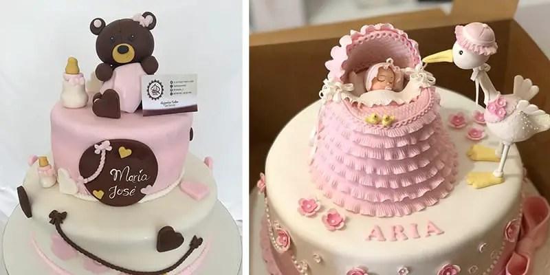 21 Pretty Baby Shower Cake Ideas For Girls