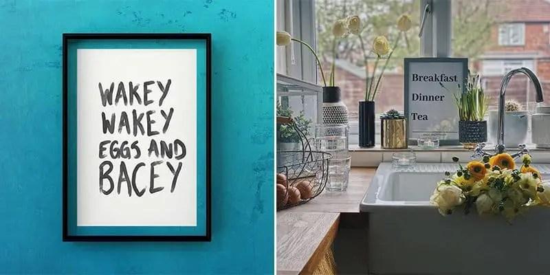 24 Brilliant Kitchen Wall Art Ideas