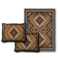 Eagle Feather Throw Blanket & Two Pillow Set - Southwest ...