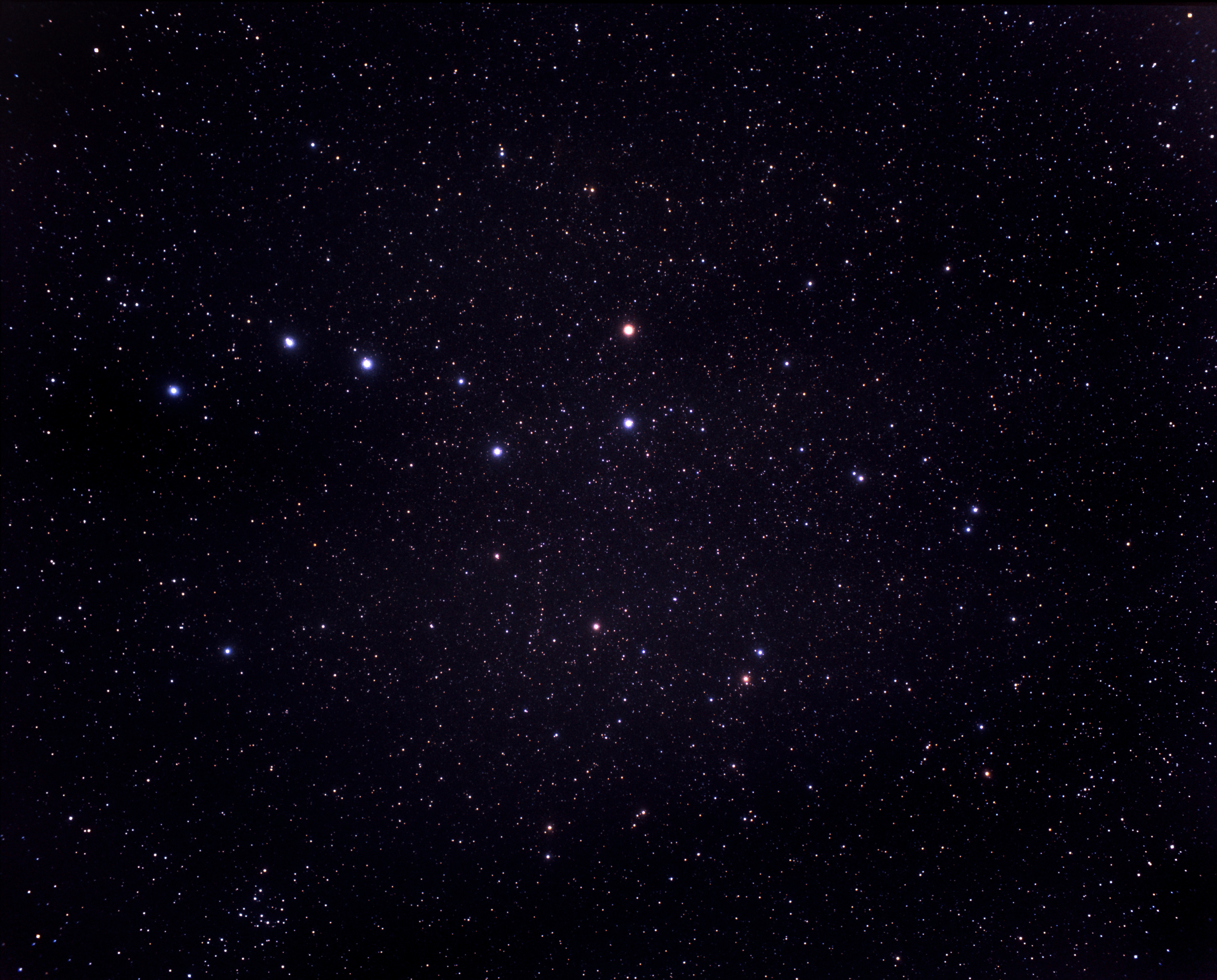 Live Winter Snow Fall Background Wallpaper A Very Wide Field View Of The Constellations Of Ursa Major