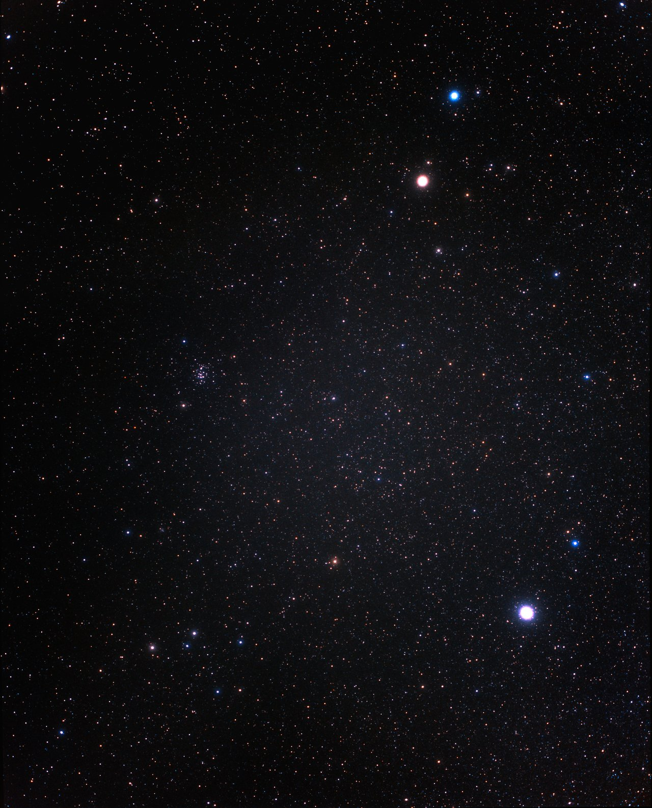 A widefield view of the constellation of Cancer ground