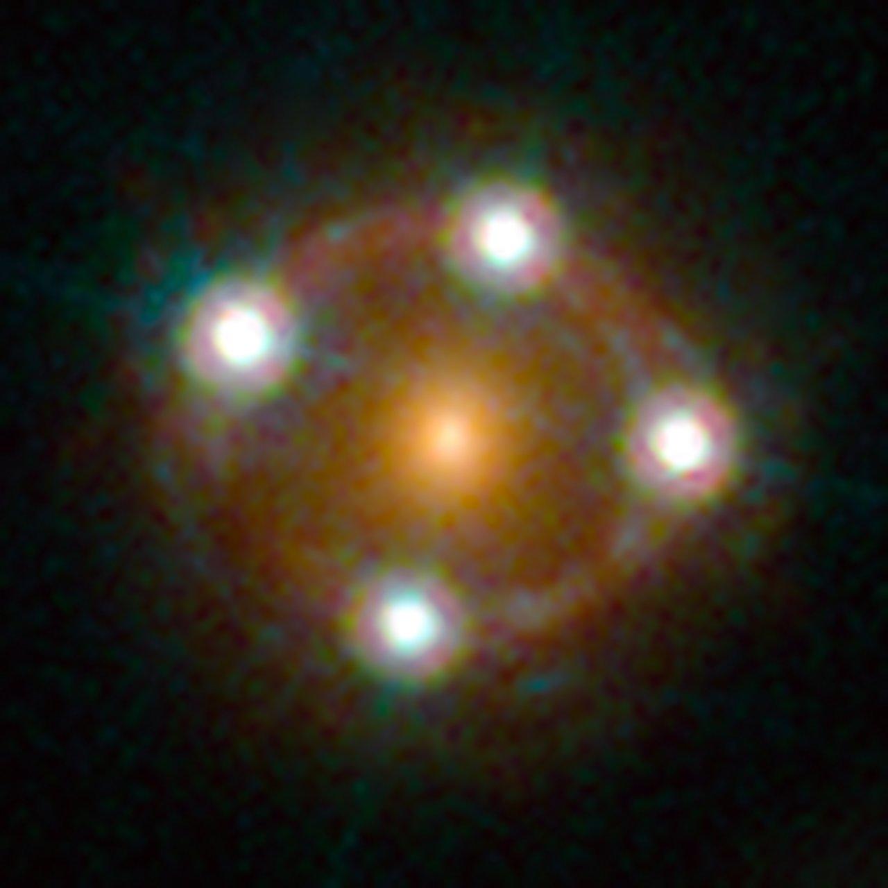 Lensed quasar  ESAHubble