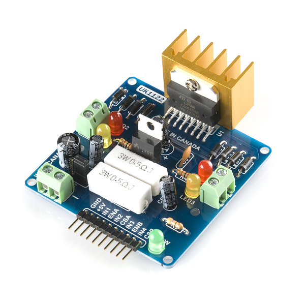 l298 h bridge circuit diagram 96 civic alternator wiring motor driver 2a dual rob 09670 sparkfun electronics