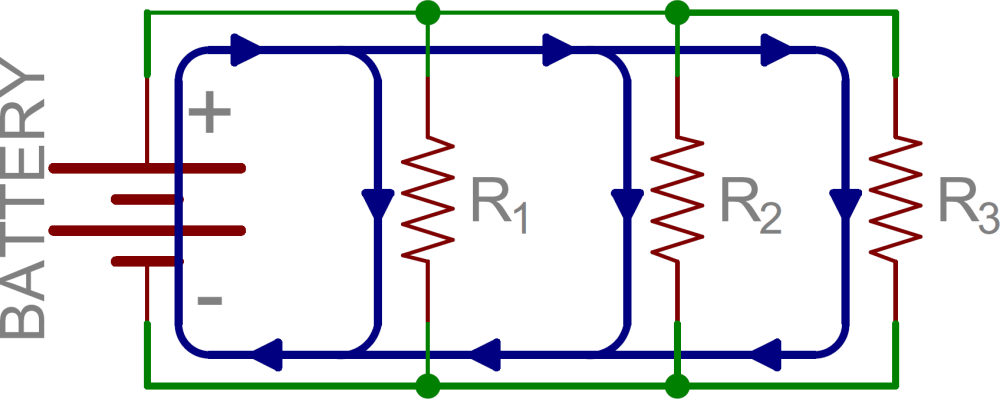 medium resolution of schematic three resistors in parallel