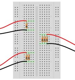 experiment measure parallel resistors with a multimeter [ 1263 x 797 Pixel ]