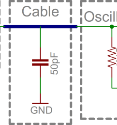 simplified schematic of probe transmission wire scope input [ 1736 x 740 Pixel ]