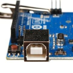 Mini Usb Plug Wiring Diagram Rheem Gas Furnace Parts Connector Basics Learn Sparkfun Com B On An Arduino Uno