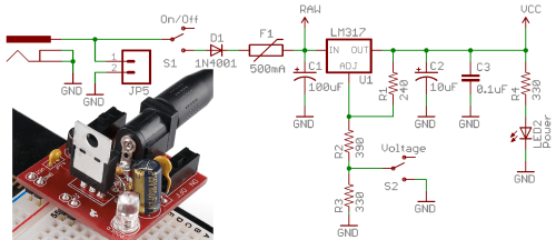 small resolution of switch basics learn sparkfun com wiring limit switches in series example on off circuit