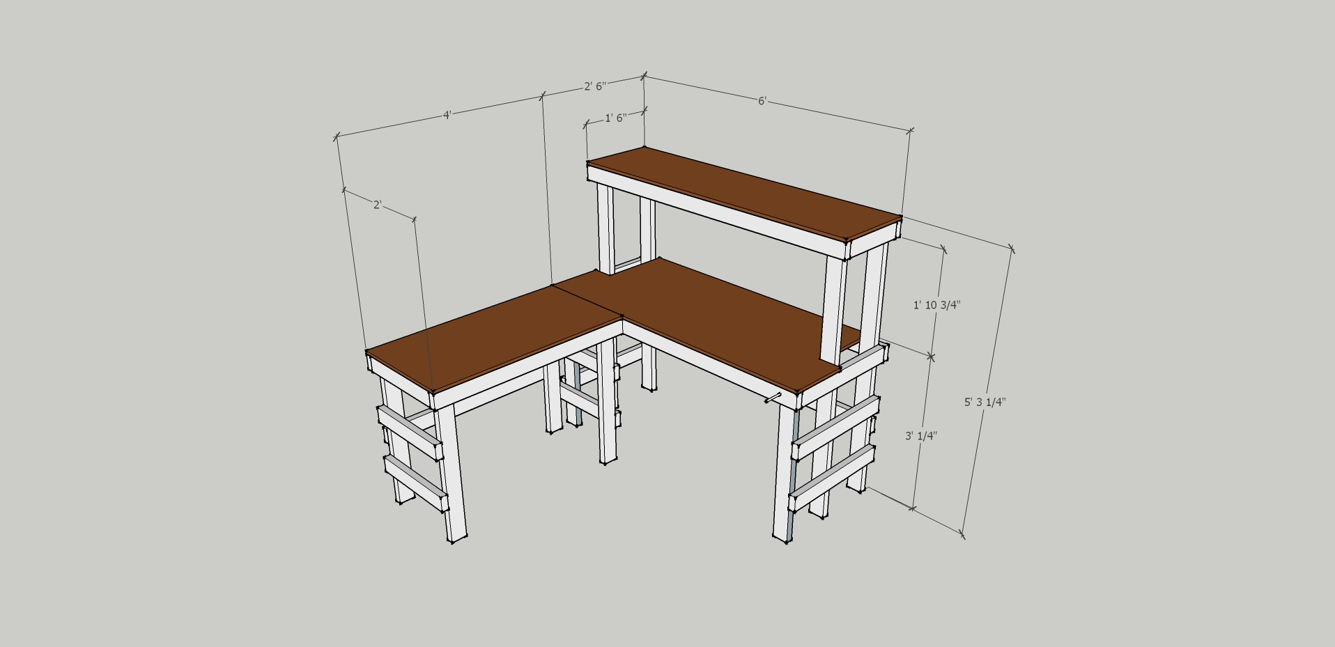 Ikea Electronics Workbench