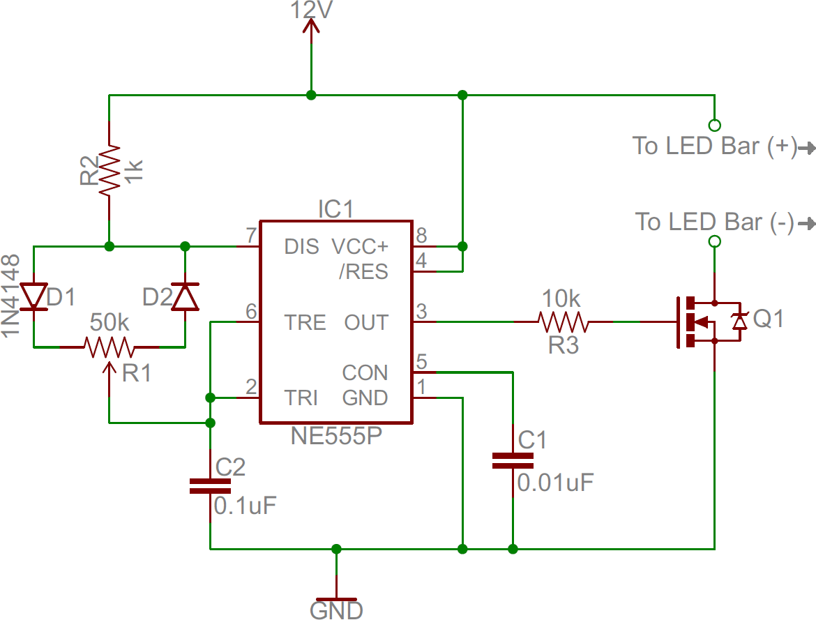 hight resolution of 555 dimmer circuit