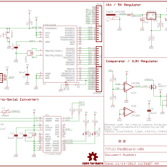 Home Wiring Diagram Symbols Pc Power Supply Electrical Schematic Diagrams Data Schema How To Read A Learn Sparkfun Com Cat5